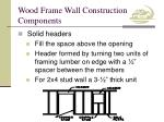 wood frame wall construction components7