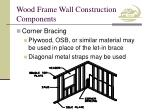wood frame wall construction components9