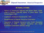deposit insurance historical perspective4