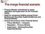pre merge financial scenario14
