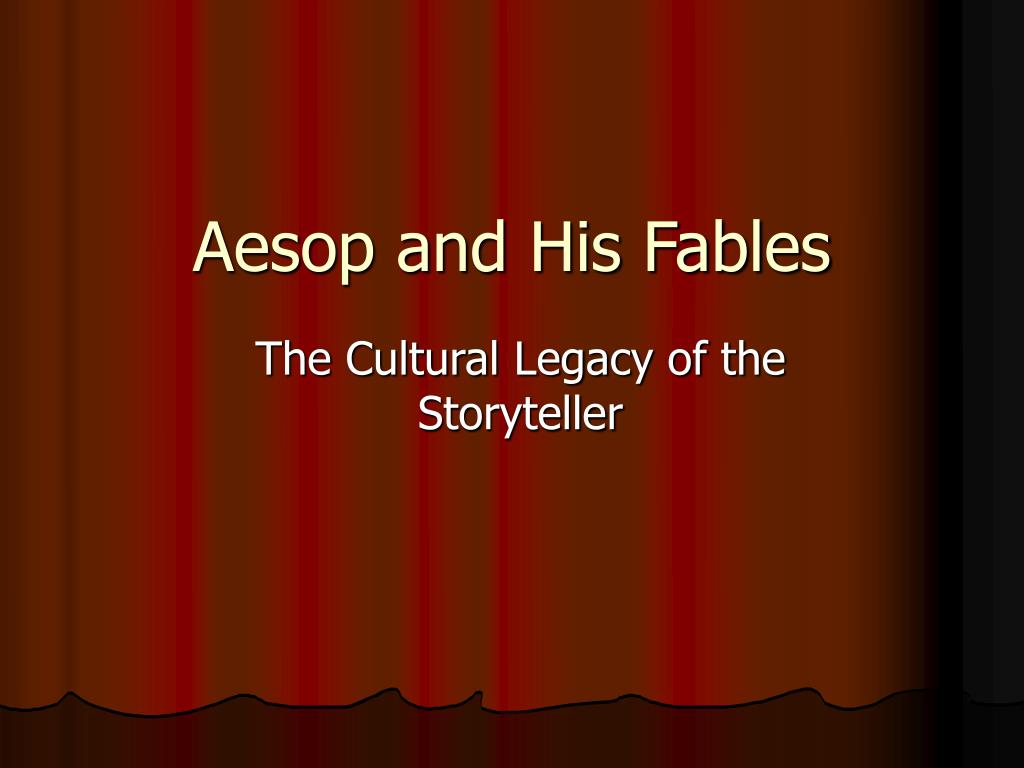 aesop and his fables l.