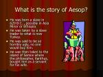 what is the story of aesop
