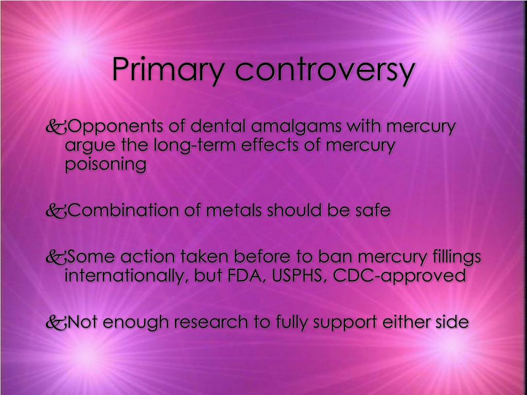 Primary controversy