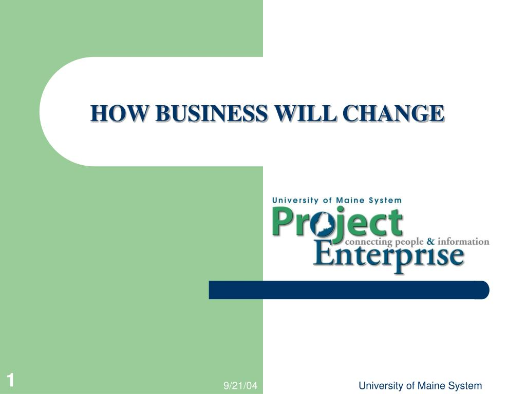 how business will change l.
