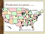 production locations 9 13 06