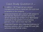 case study question 2 cont