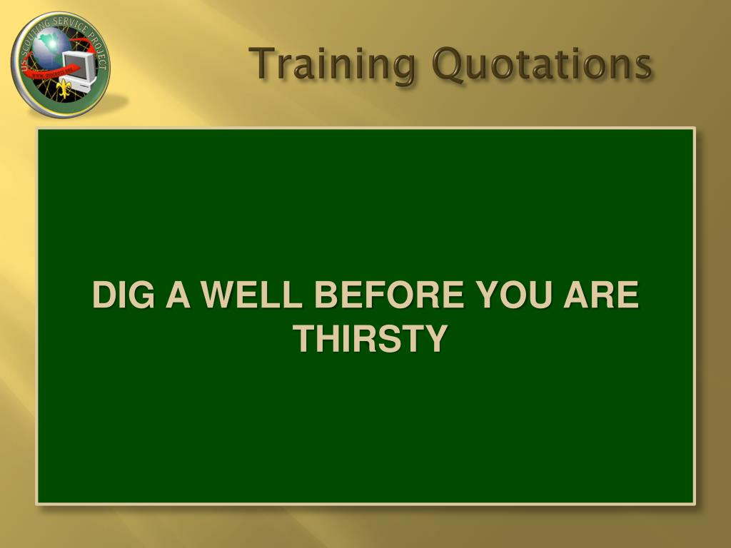 training quotations l.