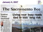 january 6 2007