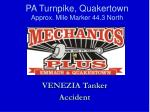 pa turnpike quakertown approx mile marker 44 3 north