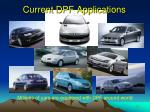 current dpf applications