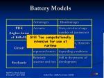 battery models