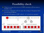 feasibility check
