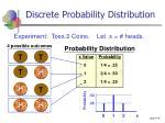 discrete probability distribution44