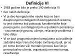 definicije vi