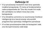 definicije vi14