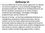 definicije vi15
