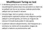 modifikovani turing ov test60