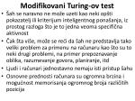 modifikovani turing ov test61