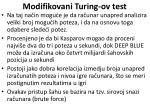 modifikovani turing ov test62