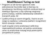 modifikovani turing ov test63