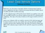 least cost vehicle options bandung and jakarta