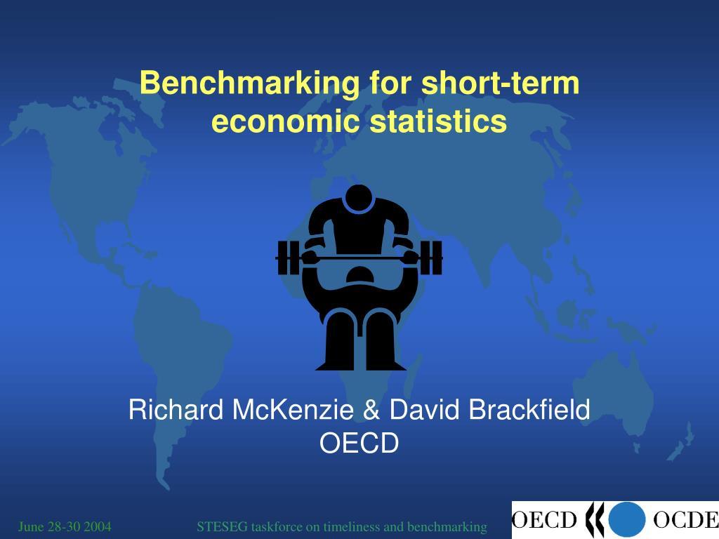 benchmarking for short term economic statistics l.