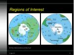 regions of interest