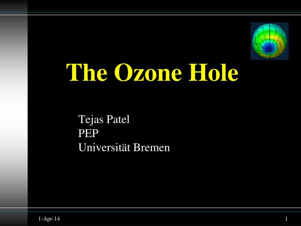 the ozone hole l.