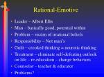 rational emotive