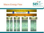 macro energy flow