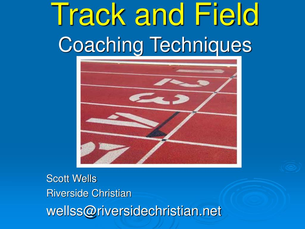 track and field coaching techniques l.