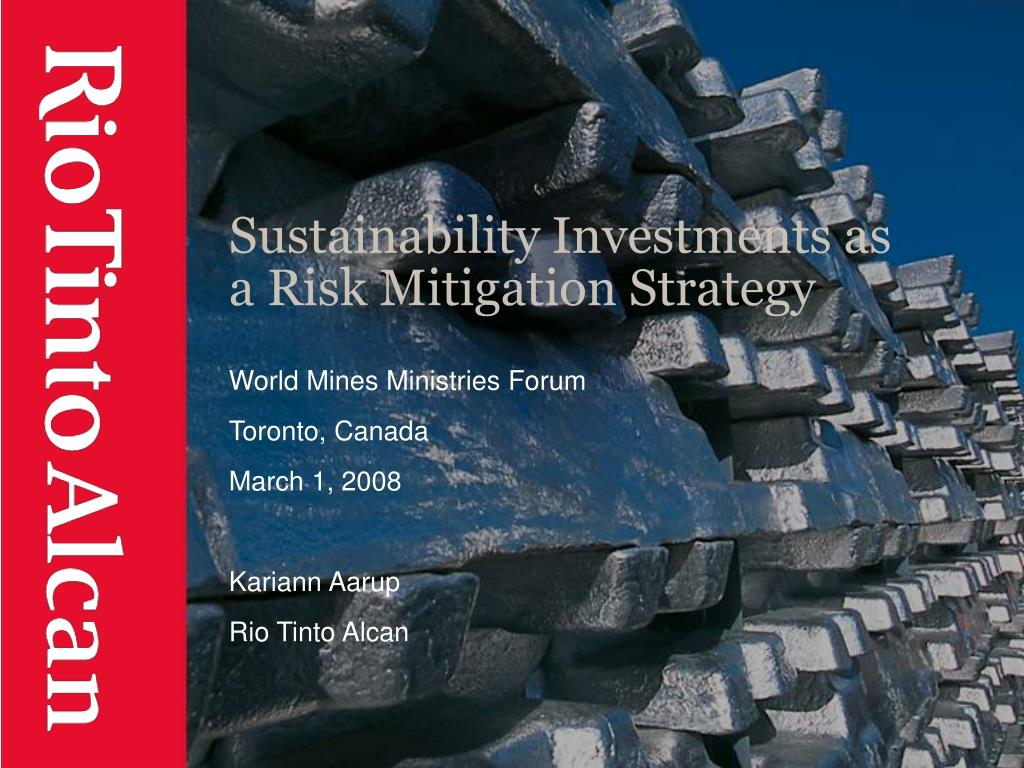 sustainability investments as a risk mitigation strategy l.
