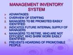 management inventory system