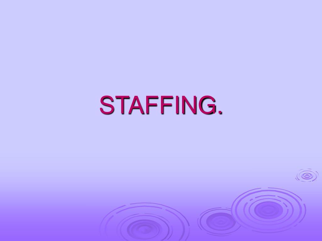 staffing l.