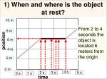 1 when and where is the object at rest11