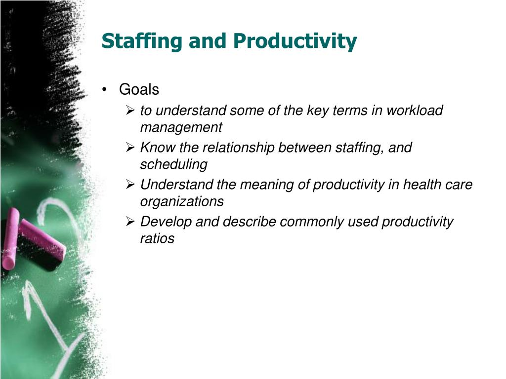 staffing and productivity l.