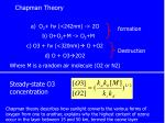 chapman theory