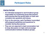 participant roles14