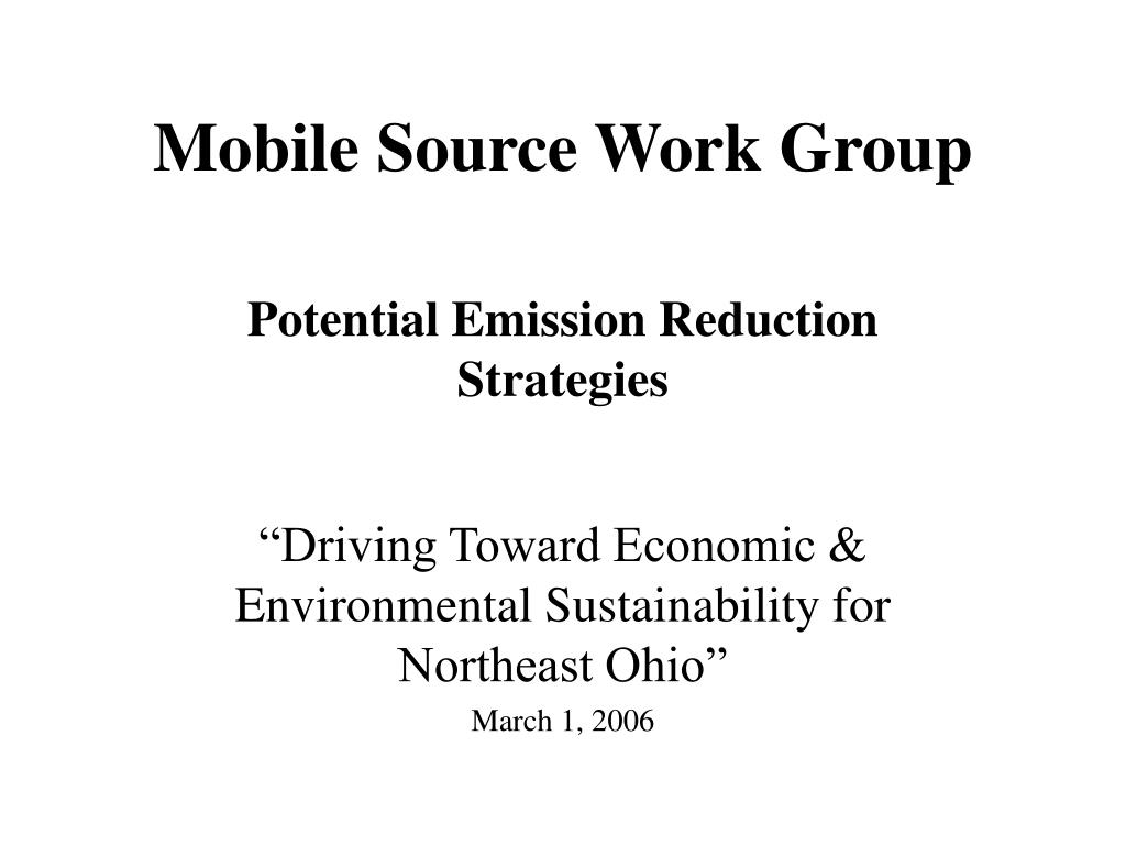 mobile source work group l.