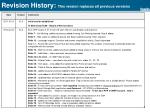 revision history this version repla ces all previous versions