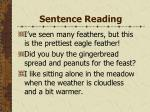 sentence reading144