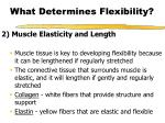 what determines flexibility9