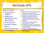 3rd grade gps