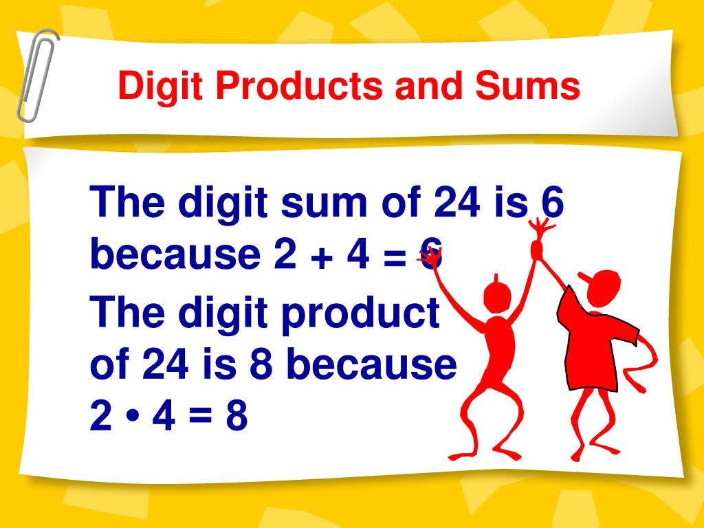 Digit Products and Sums