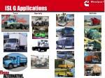 isl g applications