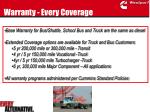 warranty every coverage