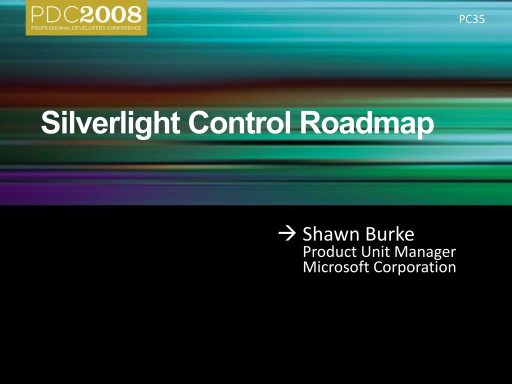 silverlight control roadmap l.