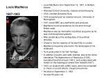 louis macneice 1907 1963