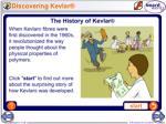 discovering kevlar