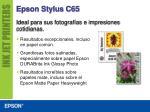 epson stylus c656